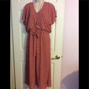 NWOT Pretty polka dot dress